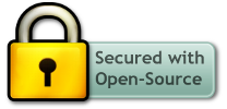 Secured with open-source-software